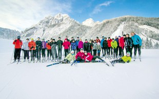 Zimski tabor teka na smučeh v Planici (foto)