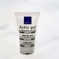 Abena Aktiv gel je poskrbel za boljšo prekrvavitev in pomiritev razbolelih mišic.