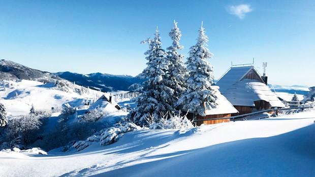 Ideja za izlet: Preživite nepozaben dan na zasneženi Veliki planini (foto: Arhiv Velika planina)