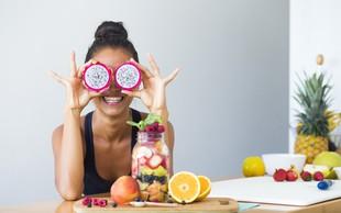 Zaužite najmanj 5 vrst sadja v sadnem dnevnem obroku