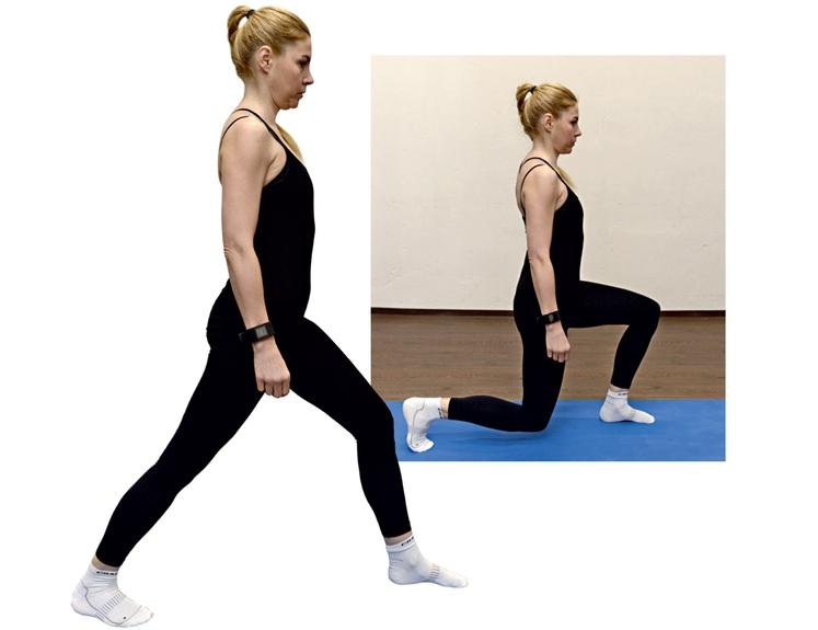 VAJA 2 Postavimo se v razkorak z obema stopaloma na tleh. Pogled osredotočen naprej in naravnost, trebušne mišice aktivirane. Vajo …