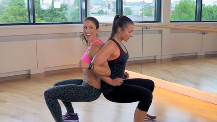 VIDEO: 10 najboljših vaj, s katerimi boste okrepili celo telo (in jih lahko delate v paru) (foto: YouTube)