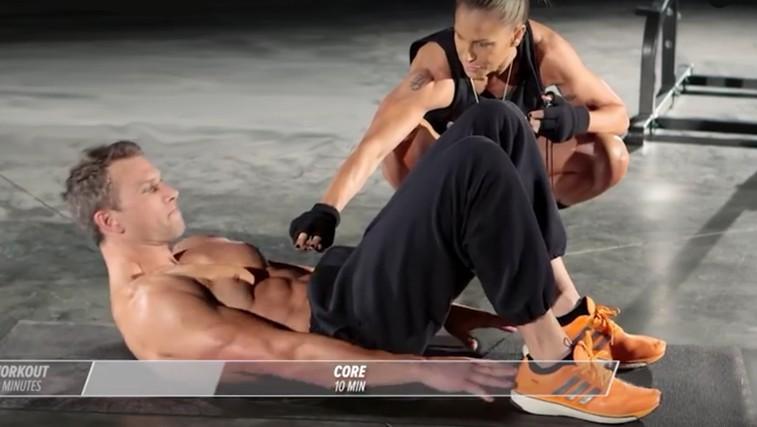 Trening doma: 10 minut za čvrste trebušne mišice (VIDEO) (foto: YouTube)