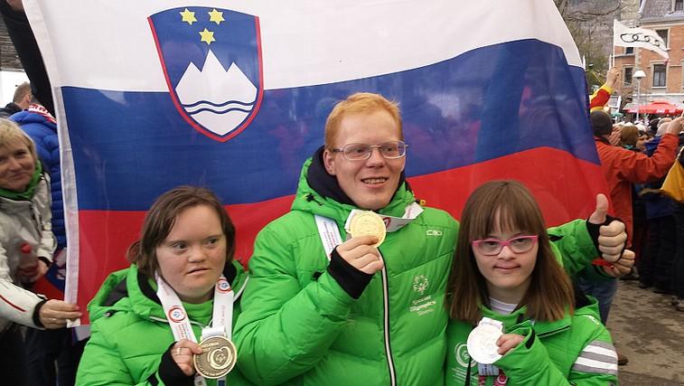 Odličen začetek Zimskih svetovnih iger slovenskih specialnih olimpijcev - tri kolajne za Slovenijo! (foto: Promocijski material)