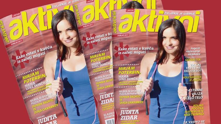 Izšla je prva številka revije Aktivni! (foto: Arhiv | Aktivni.si)