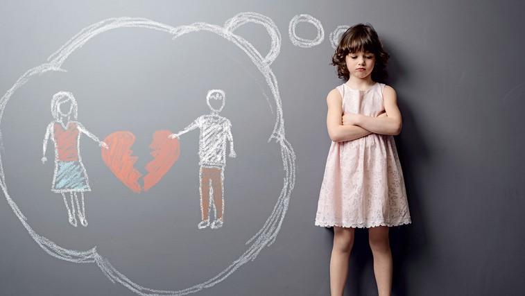 Kaj se dogaja z otroki, ko se starši ločijo (foto: Igor Zaplatil, Shutterstock, Osebni Arhiv)