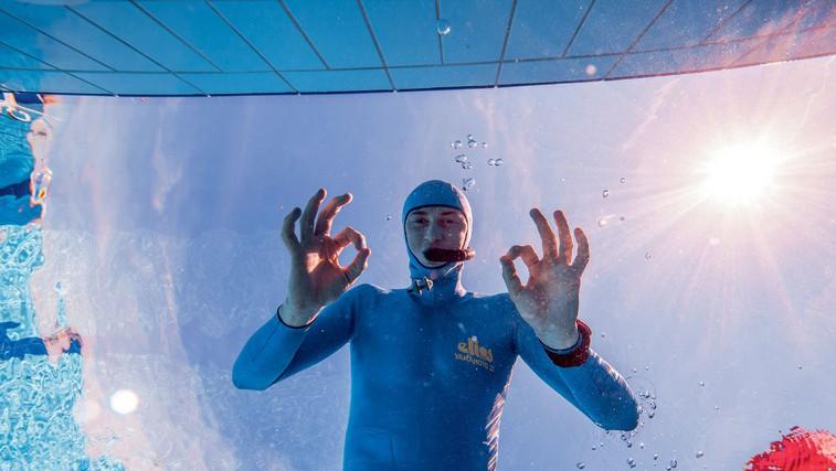 Samo Jeranko: »Pod vodo se počutim svobodno« (foto: osebni arhiv, Helena Kermelj)