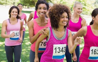 O čem med maratonom razmišljajo ženske?