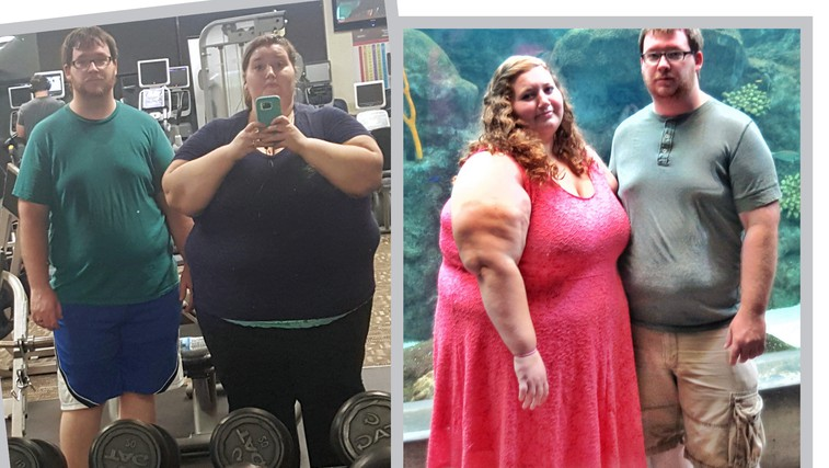 Za navdih: Par, ki je v enem letu izgubil skoraj 140 kilogramov! Poglejte si to preobrazbo! (foto: Profimedia)