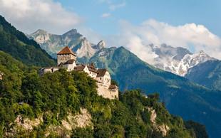 Lihtenštajn  – alpski raj