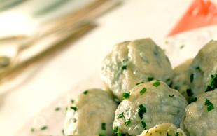 Zeliščni cmoki - okusni in slastni!