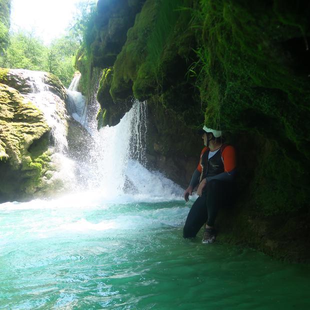 Fotoreportaža z norega raftanja po kanjonu čudovite Mrežnice!