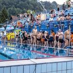 'Swim to Live' ali ko v plavanju tekmujejo profesionalci, otroci, upokojenci in invalidi (foto: Nives Brelih)