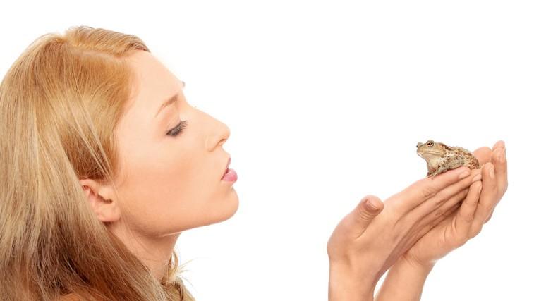 """""""Poljubila sem veliko žabcev ..."""" (foto: shutterstock)"""