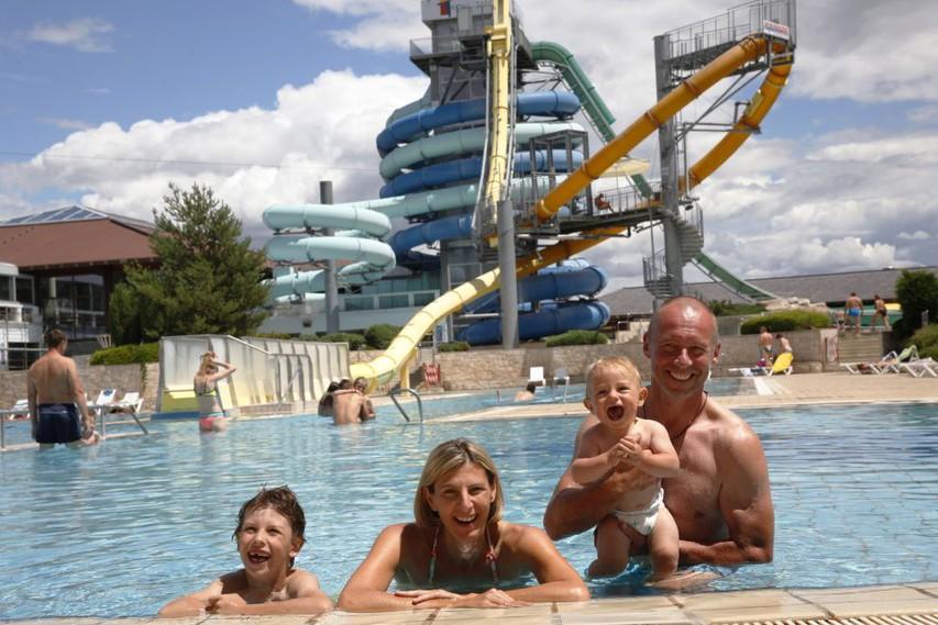 Sprostitev v bazenih v Termah 3000 Moravske Toplice.