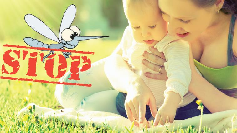 Zaščitite svoje otroke pred nadležnimi insekti na naraven način