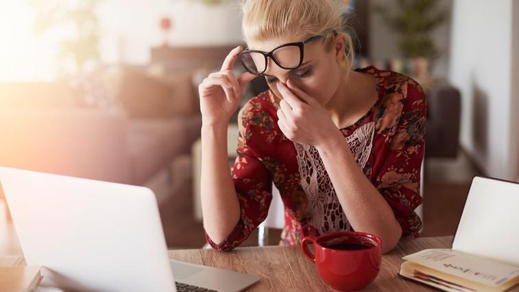 9 vzrokov za utrujenost (in to ni fizični napor) (foto: Profimedia)