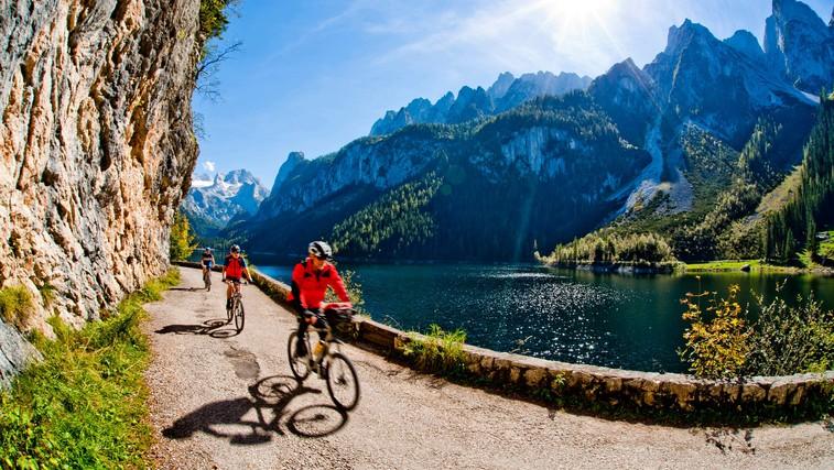Kulturno-kolesarske poti v Avstriji (foto: Profimedia)