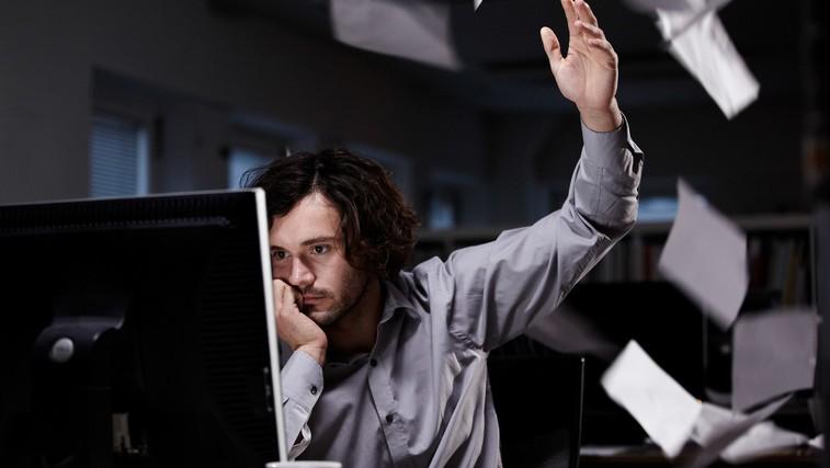 Kako nadure in stres v službi vplivajo na srce (foto: Profimedia)
