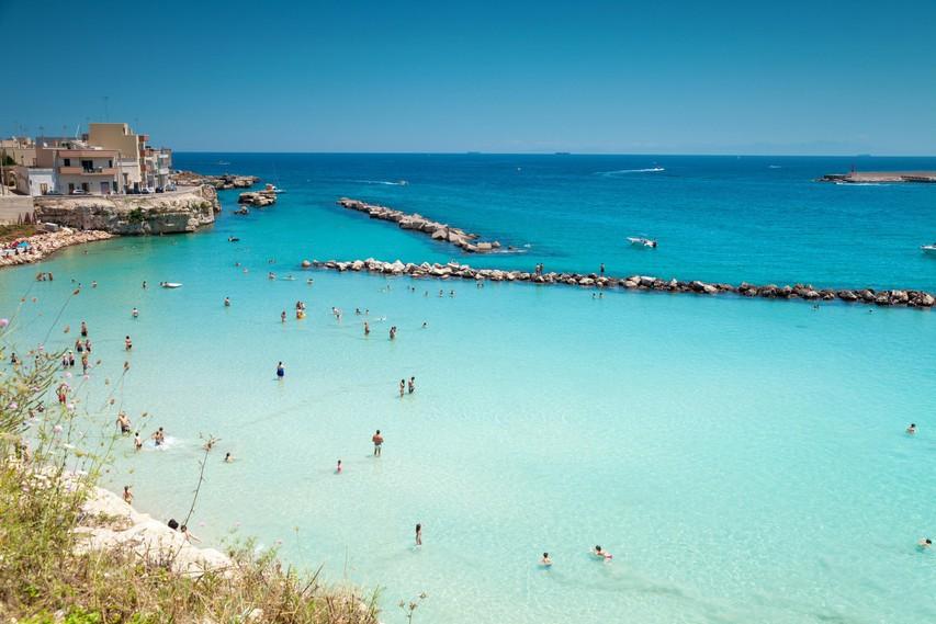 Otranto, idilični obmorski kraj.