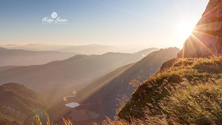 Razgled na Belopeška jezera (foto: Katja Jemec)