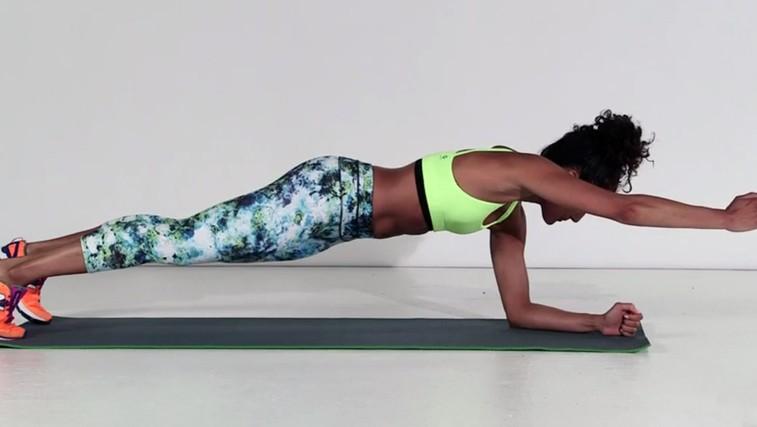 Regeneracija: 6 top vaj, ki jih naredite na dan počitka (foto: Runner's World Video PrtScr)