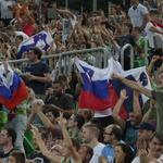 Telemachovi reprezentanti popestrili spektakel v Stožicah (foto: Goran Antlej)