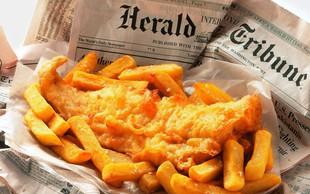 Kosilo po britansko: Fish & Chips