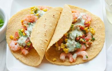 Recept za zdravo in hitro kosilo: Tortilje z morskimi sadeži