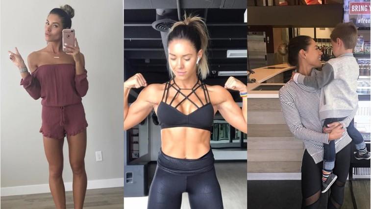 Navdihujoč zapis fitnes blogerke, ki bi ga morale prebrati vse ženske (foto: PrtScr Instagram/kelseywells)