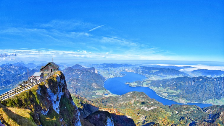 Ideja za izlet: Po razgled na Schafberg (Avstrija) (foto: Zoran Andreevski)
