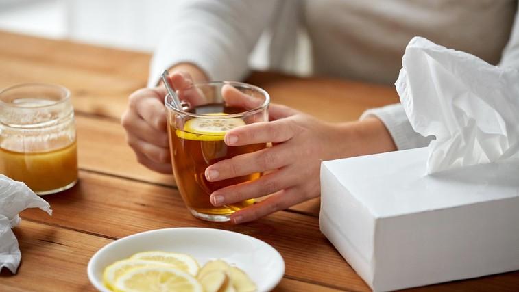 Zakaj čaj z limono ni učinkovito zdravilo proti prehladu (foto: Profimedia)