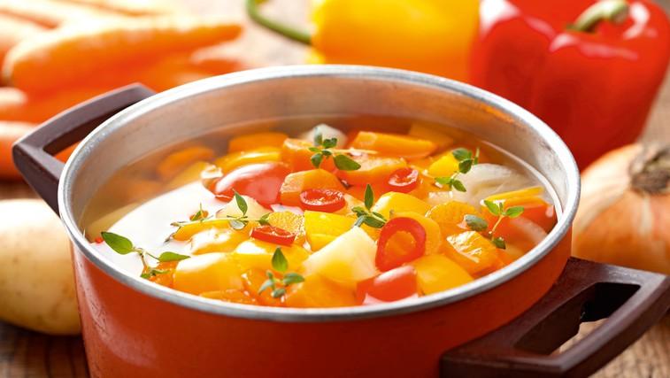 Klasična zelenjavna juha (foto: Shutterstock)