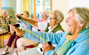Starejši Slovenci bolj aktivni od vrstnikov v EU