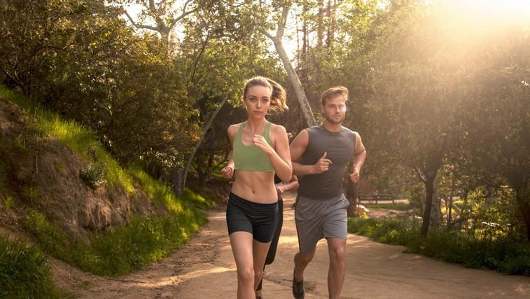 Vaše telo med gibanjem ustvarja drogo (foto: Profimedia)