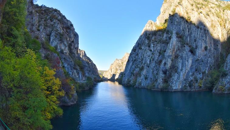 Balkanski biser: Kanjon Matka (foto: Zoran Andreevski)