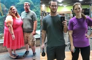 Neverjetno: ta par je v enem letu skupaj izgubil kar 135 kilogramov!