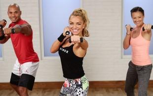 Hitri trening, ki vključuje boks in kardio ter učvrsti trup