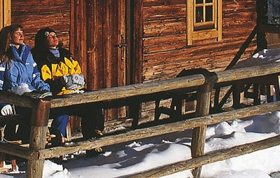 Rustikalne smučarske koče v avstrijskih Alpah