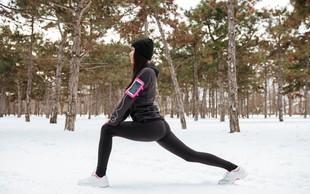 Ne pozabite na šport tudi v temnih zimskih dnevih!