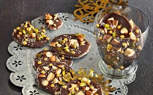 Čokoladni 'piškoti', ki se kar topijo v ustih (brez peke)