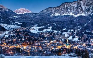Cortina D'Ampezzo - zimski raj za ljubitelje belih strmih