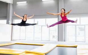 Odpira se trampolin park WOOP! 3.500 m2 zabave v zraku
