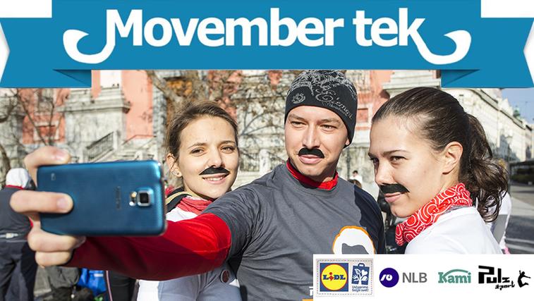 Movember tek – najbolj brkati tek v Sloveniji (foto: Movember tek)