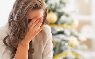 Te navade poslabšujejo praznični stres