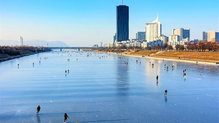 Ideja za zimski izlet: Na drsanje po Dunaju (foto: Profimedia)