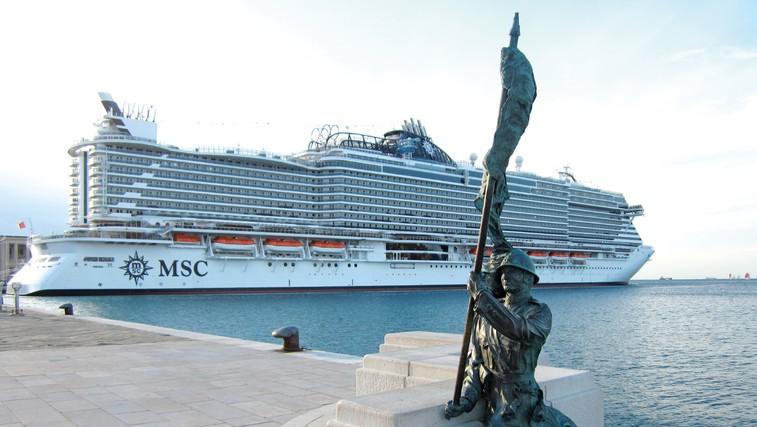Morski prestiž – križarka MSC Seaside (foto: Alojz Petrovčič)