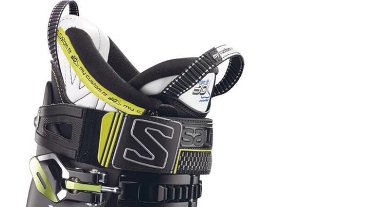Smučarski čevlji, ki nudijo vrhunsko udobje, nizko težo in preciznost v zavojih (foto: Salomon)
