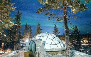 Zimska pravljica: Kakslauttanen Arctic Resort na Finskem