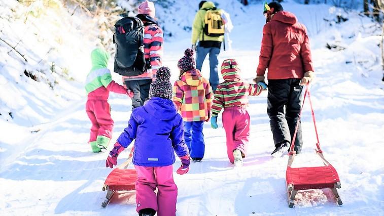 Zimske olimpijske igre za otroke (ideje za športne aktivnosti na prostem) (foto: Profimedia)
